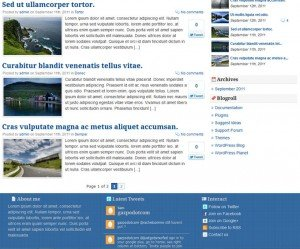 Free WordPress Magazine Theme Gazpo